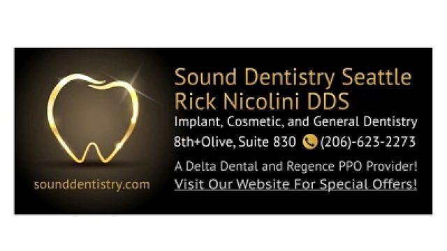 Sound Dentistry Seattle, Rick Nicolini DDS